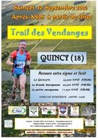 TRAIL des VENDANGES   QUINCY