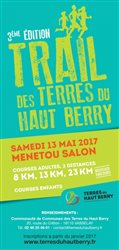 Trail de Menetou Salon 13 05 2017+photos